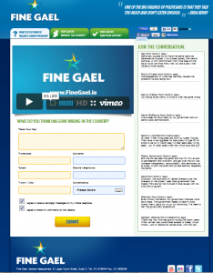finegael 2011 screenshot 7th Jan 2011