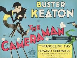Buster keaton cameraman movie poster